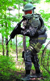 Conceptual  - Objective Force Warrior, Okinawa, Japan