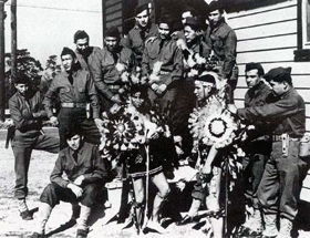 Comanche code-talkers of the 4th Signal Company (U.S. Army Signal Center and Ft. Gordon)