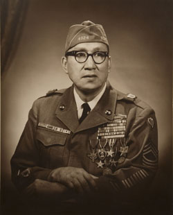Master Sergeant Woodrow W. Keeble