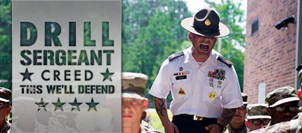 U.S. Army Drill Sergeant Creed