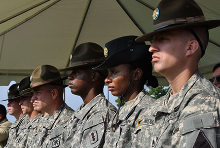 Army Drill Sergeants