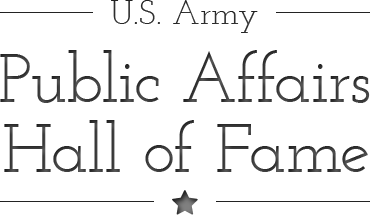 U.S. Army Public Affairs Hall of Fame