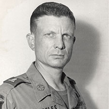 Lieutenant Colonel Charles Kettles Bio Image
