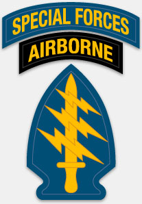 Special Forces Airborne Patch