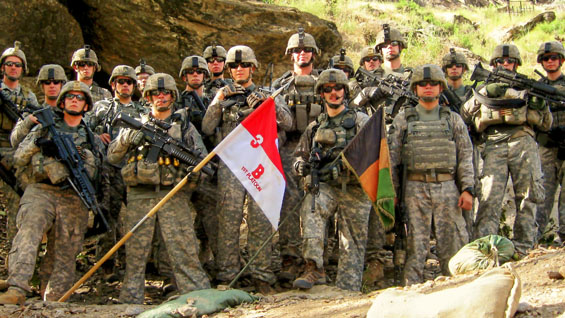 3-61 Cavalry Regiment, 4th Brigade Combat Team, 4th Infantry Division