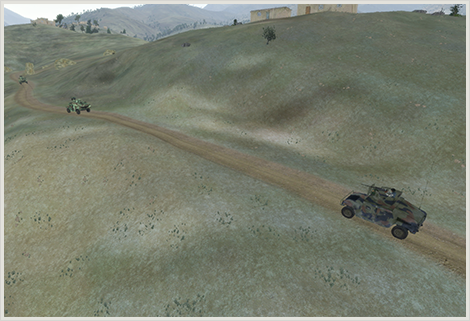 First convoy attempt Scene 1