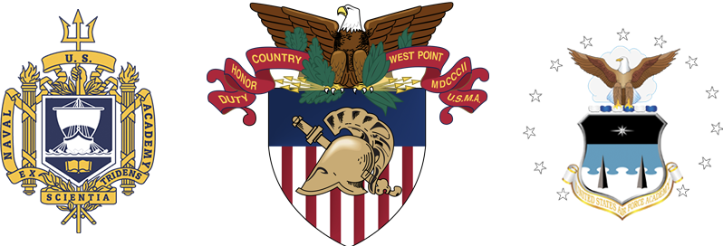 Crest | U.S. Military Academy Coat of Arms | U.S. Air Force Academy Shield