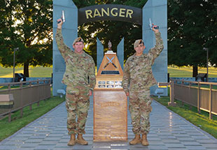Sgt. 1st Class Joshua Rolfes and Sgt. 1st Class Anthony Allen