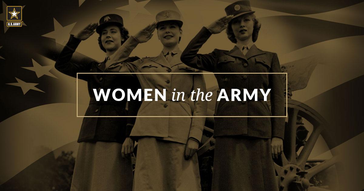 d715e848608 Women in the U.S. Army