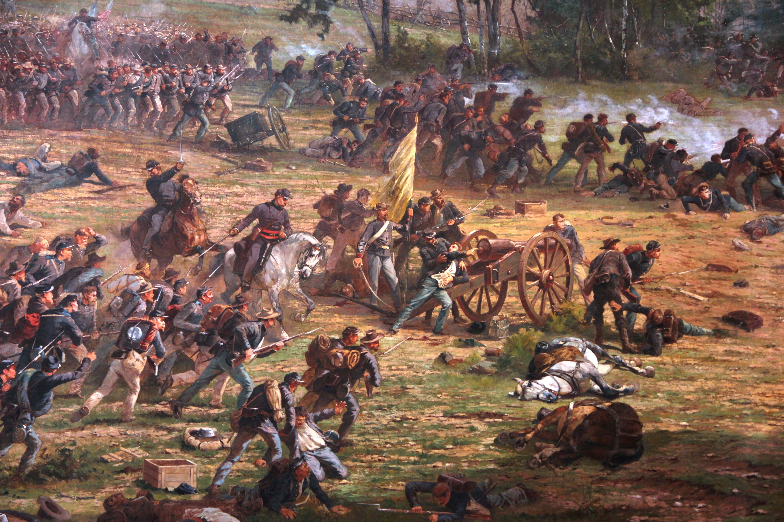 an introduction to the history of the battle of gettysburg in the united states Start studying us history unit 2 learn vocabulary, terms, and more with flashcards, games, and other study tools  won the battle at gettysburg george pickett  anyone born or.