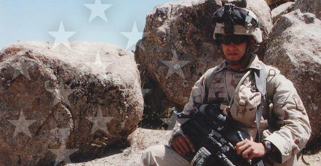 Salvatore A. Giunta in Afghanistan