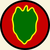 24th Infantry Division unit patch