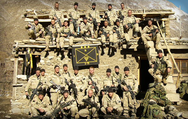 Sergeant First Class Petry and his platoon