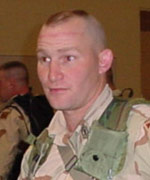 First Sergeant Timothy Campbell