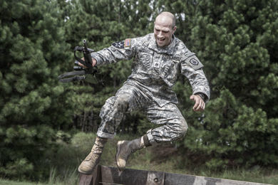 2015 Year in Pictures : A U.S. Army staff sergeant from the Army ...
